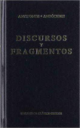 FRAGMENTOS Y DISCURSOS