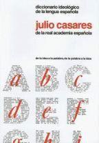 DICCIONARIO IDEOLOGICO DE LA LENGUA ESPAÑOLA