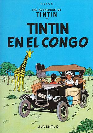 TINTIN EN EL CONGO (CASTELLANO)