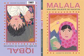 MALALA, UNA NIÑA VALIENTE DE PAKISTÁN / IQBAL, UN NIÑO VALIENTE DE PAKISTÁN
