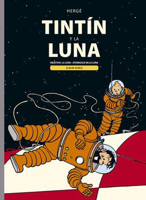 TINTIN Y LA LUNA  ( ÁLBUM DOBLE )