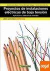 PROYECTOS DE INSTALACIONES ELECTRICAS DE BAJA TENSION