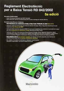 REGLAMENT ELECTROTÈCNIC PER A BAIXA TENSIÓ (5º ED)