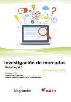 INVESTIGACIÓN DE MERCADOS. MARKETING 4.0