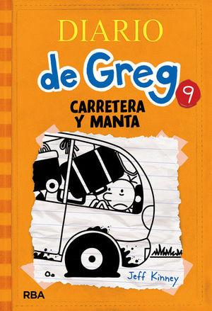 DIARIO DE GREG 09 - CARRETERA Y MANTA