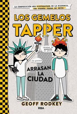 GEMELOS TAPPER ARRASAN LA CIUDAD, LOS