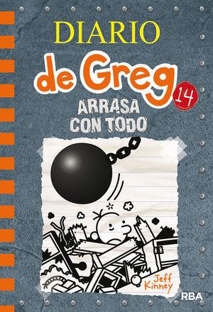 DIARIO DE GREG 14 - ARRASA CON TODO