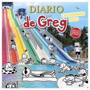 CALENDARIO 2022 DIARIO DE GREG