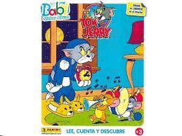 BABY STICKER ALBUM: TOM & JERRY   (TODOS LOS CROMOS EN SU INTERIOR)