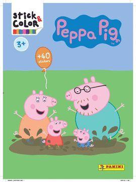 PEPA PIG 2018, STICK & COLOR