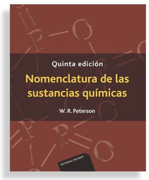 NOMENCLATURA DE LAS SUSTANCIAS QUIMICAS (5 ED.)
