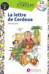 LETTRE DE CORDOUE, LA + AUDIO CD (NIVEAU 2)