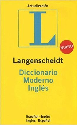 DICCIONARIO MODERNO ESPAÑOL-INGLES INGLES-ESPAÑOL