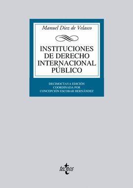 INSTITUCIONES DE DERECHO INTERNACIONAL PÚBLICO (18 ED.)