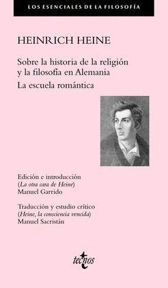 SOBRE LA HISTORIA DE LA RELIGIÓN Y LA FILOSOFÍA EN ALEMANIA LA ESCUELA ROMÁNTICA