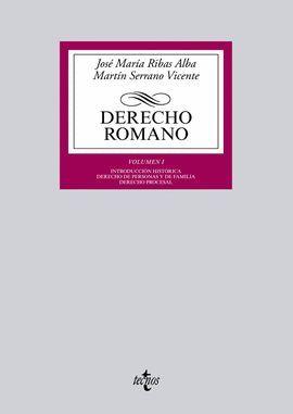 DERECHO ROMANO. VOLUMEN 1