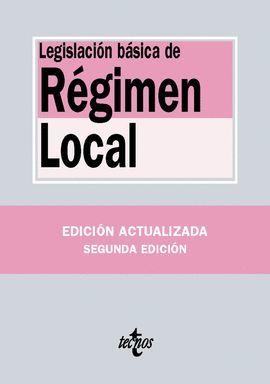LEGISLACIÓN BASICA DE REGIMEN LOCAL (2016)