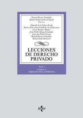 LECCIONES DE DERECHO PRIVADO