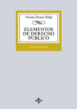 ELEMENTOS DE DERECHO PÚBLICO (9 EDICION 2016)