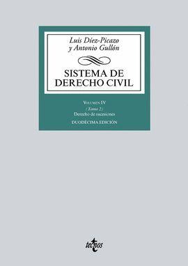SISTEMA DE DERECHO CIVIL - VOL. IV - TOMO 2