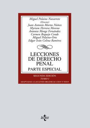 LECCIONES DE DERECHO PENAL. PARTE ESPECIAL (2 EDICION 2020)