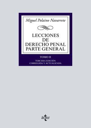 LECCIONES DE DERECHO PENAL - PARTE GENERAL TOMO II