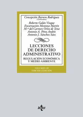 LECCIONES DE DERECHO ADMINISTRATIVO. VOLUMEN III (3 EDICION 2018)