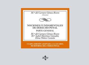 NOCIONES FUNDAMENTALES DE DERECHO PENAL - PARTE GENERAL