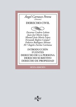 DERECHO CIVIL (6 EDICION 2018)