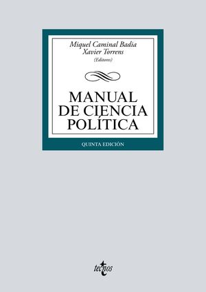 MANUAL DE CIENCIA POLÍTICA (5 EDICION 2019)