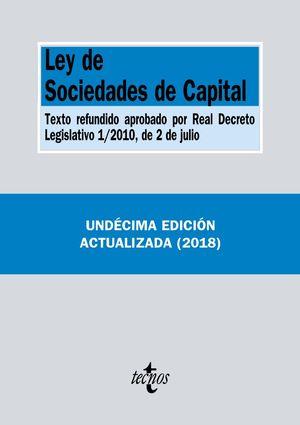 LEY DE SOCIEDADES DE CAPITAL (11 EDICION 2018)