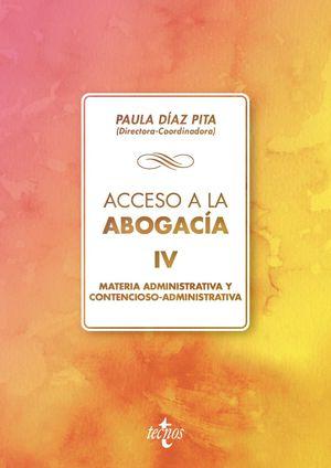 ACCESO A LA ABOGACÍA VOL. 4