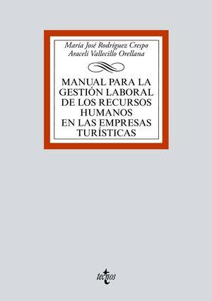MANUAL PARA LA GESTIÓN LABORAL DE LOS RECURSOS HUMANOS EN LAS EMPRESAS TURÍSTICA