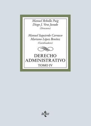 DERECHO ADMINISTRATIVO - TOMO IV