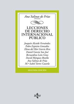 LECCIONES DE DERECHO INTERNACIONAL PÚBLICO (2 EDICION 2019)