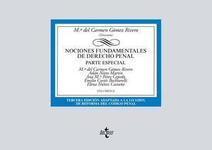 NOCIONES FUNDAMENTALES DE DERECHO PENAL. PARTE ESPECIAL (3 EDICION 2019)