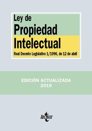 LEY DE PROPIEDAD INTELECTUAL (2019)