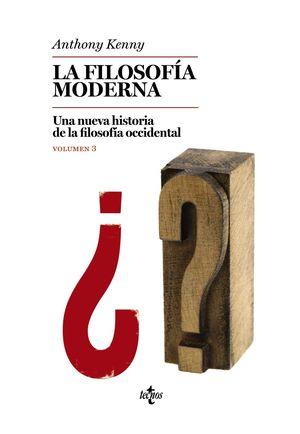 FILOSOFÍA MODERNA VOL. 3, LA
