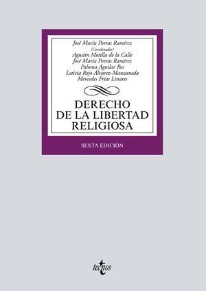 DERECHO DE LA LIBERTAD RELIGIOSA (6 EDICION 2019)