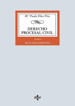 DERECHO PROCESAL CIVIL. TOMO I (SEGUNDA EDICION)