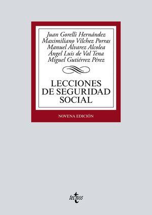 LECCIONES DE SEGURIDAD SOCIAL (9 EDICION 2019)