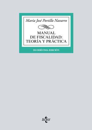 MANUAL DE FISCALIDAD: TEORÍA Y PRÁCTICA (12 EDICION 2019)