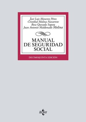MANUAL DE SEGURIDAD SOCIAL (15 EDICION 2019)