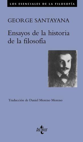 ENSAYOS DE LA HISTORIA DE LA FILOSOFÍA