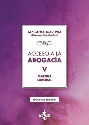 ACCESO A LA ABOGACÍA VOL. 5