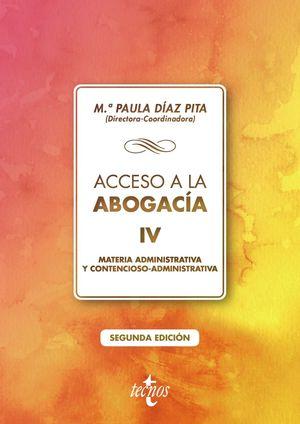 ACCESO A LA ABOGACÍA IV