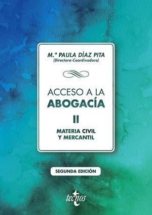 ACCESO A LA ABOGACÍA II (SEGUNDA EDICION 2020)