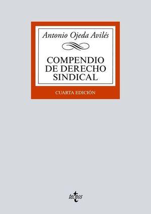 COMPENDIO DE DERECHO SINDICAL (4 EDICION 2020)