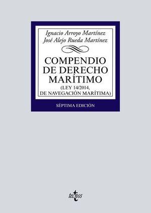COMPENDIO DE DERECHO MARÍTIMO (7 EDICION 2020)