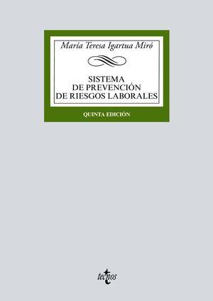 SISTEMA DE PREVENCIÓN DE RIESGOS LABORALES (5 EDICION 2020)